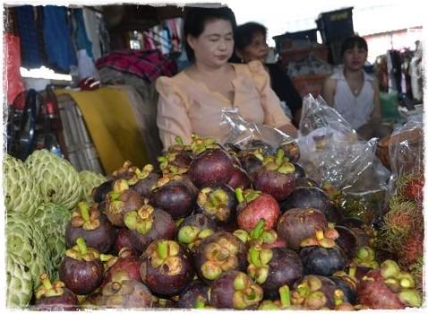 Il frutto del mangostano che puoi trovare in Thailandia